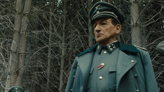 "Ben Kingsley plays Adolf Eichmann, a key architect of the Holocaust, in ""Operation Finale."""