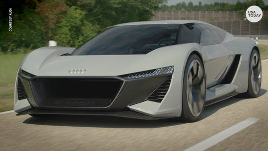 Audi PB 18 e-tron goes from 0 to 60 in 2 seconds