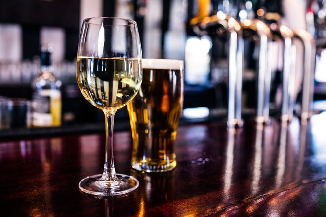 Alcohol is a leading risk factor for early death globally, a new study says. Health risks increase when people drink any amount of beer, wine or liquor, researchers say.