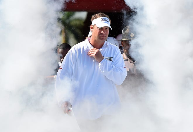 Lane Kiffin is in his second season as coach at FAU.