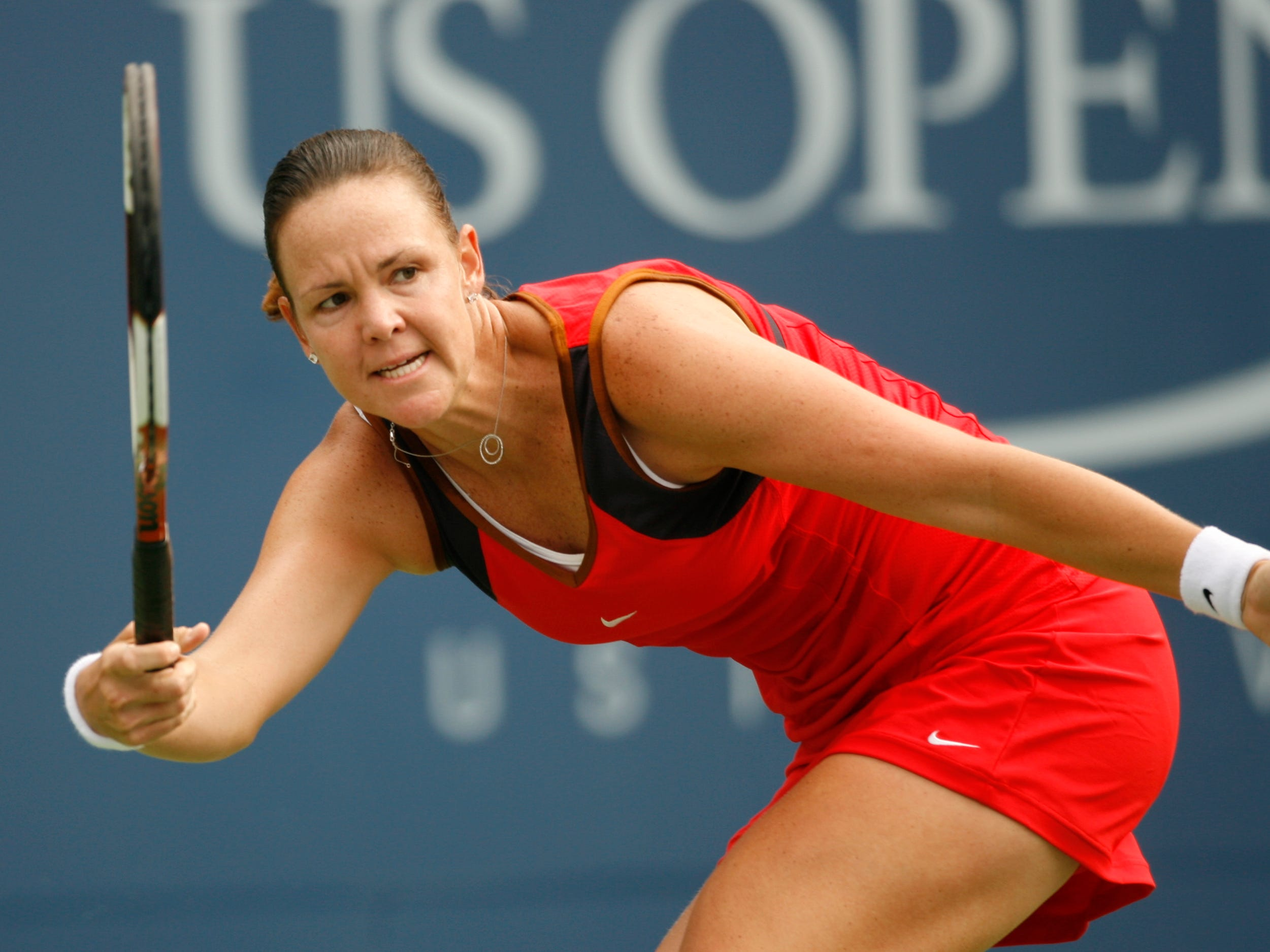 Lindsay Davenport (4-10). The three-time major champion retired in 2010.