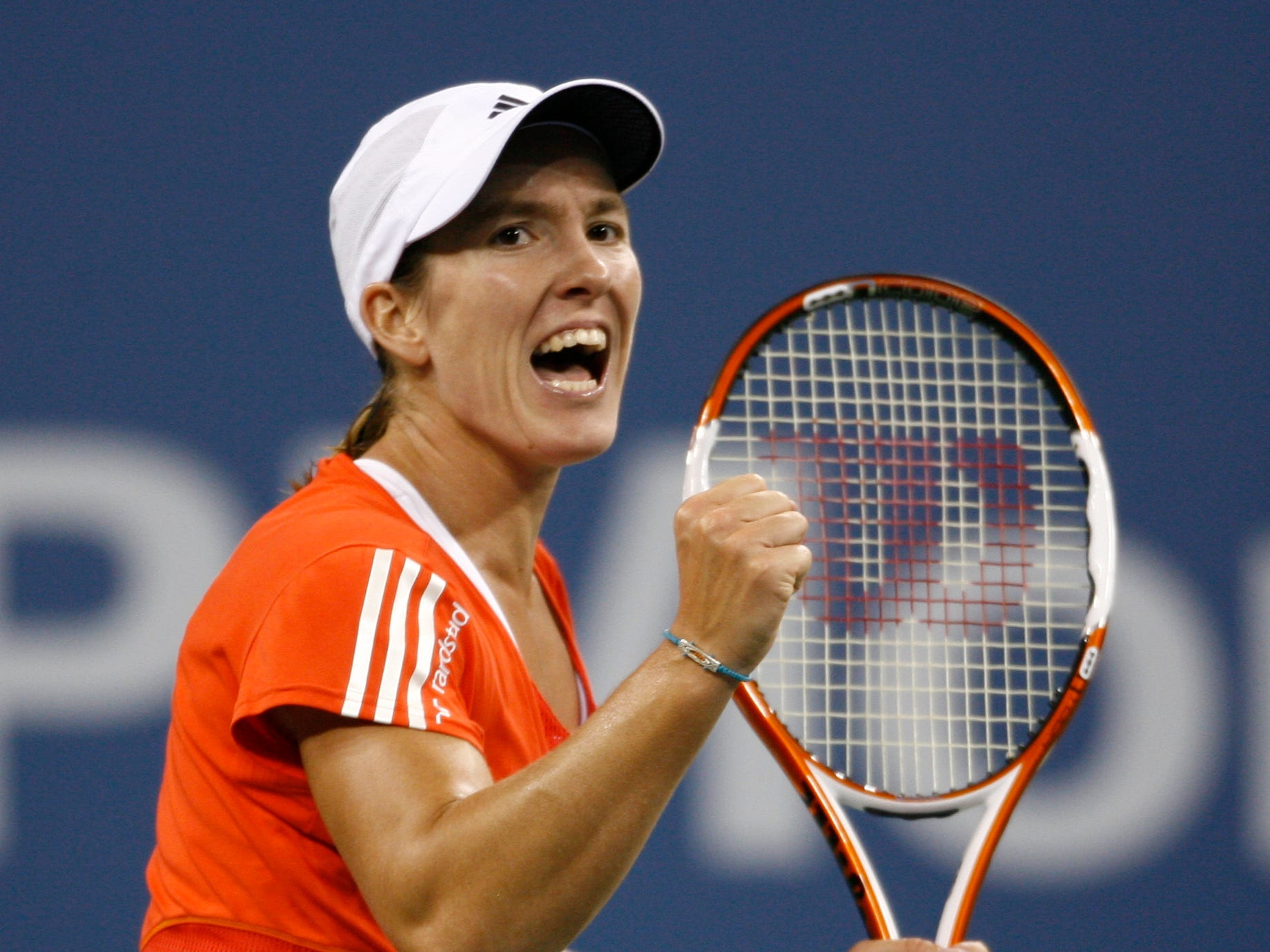 Justine Henin (6-8). One of Serena's fiercest rivals, leading to occasional controversy, in the early-to-mid 2000s. Henin, who retired in 2011, won seven major titles, including four French Opens. Serena won their final matchup, the final of the 2010 Australian Open.