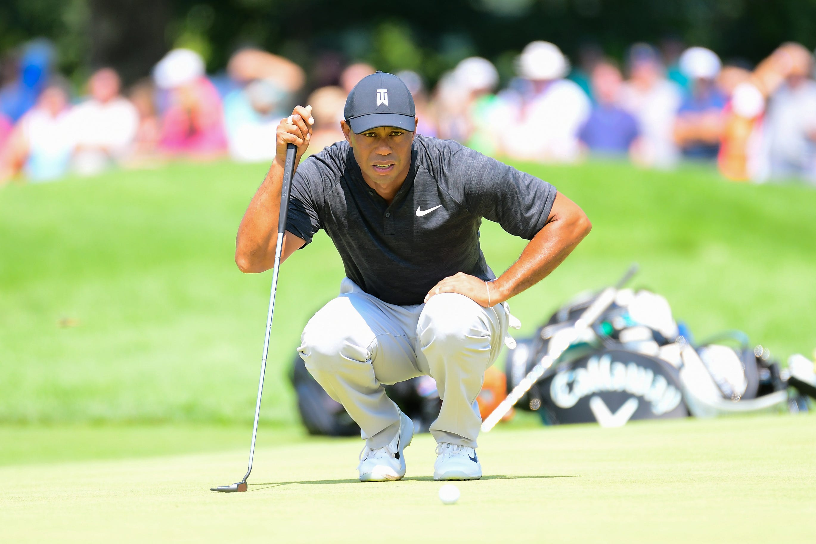 a9049426 Tiger Tracker: Follow Tiger Woods' Friday round shot-by-shot at the Northern  Trust 8 Months ago