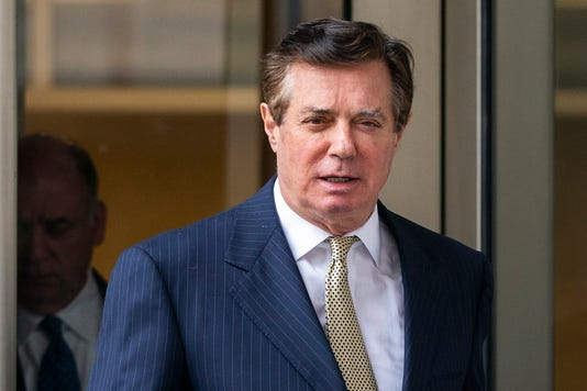 Paul Manafort In Washington D C On April   Photo Jim Lo Scalzo Epa Efe