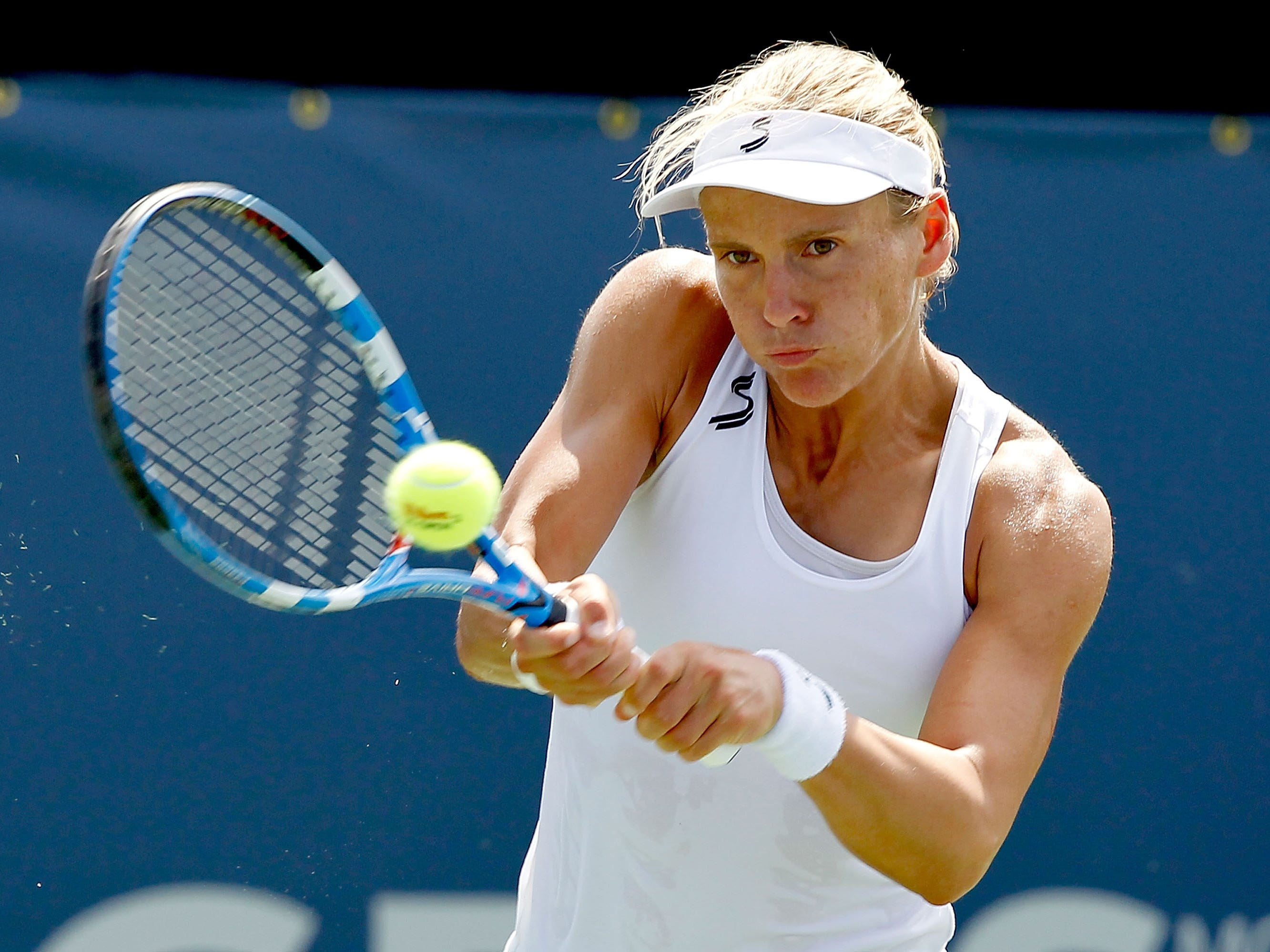 Sybille Bammer (2-0). Bammer retired in 2011 and remains the only player to face Serena multiple times without losing.