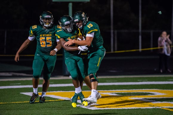 Reynolds defeated Shelby 17-14 in their second game of the season on Friday August 24, 2018