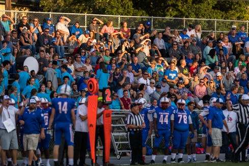 Hendersonville hosted West Henderson for their week two football game, Friday, August 24, 2018.