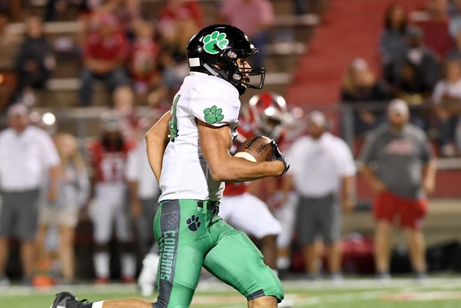 Erwin took on Mountain Heritage at home on Friday, Aug. 24, 2018. The Warriors defeated the Cougars 50-40.