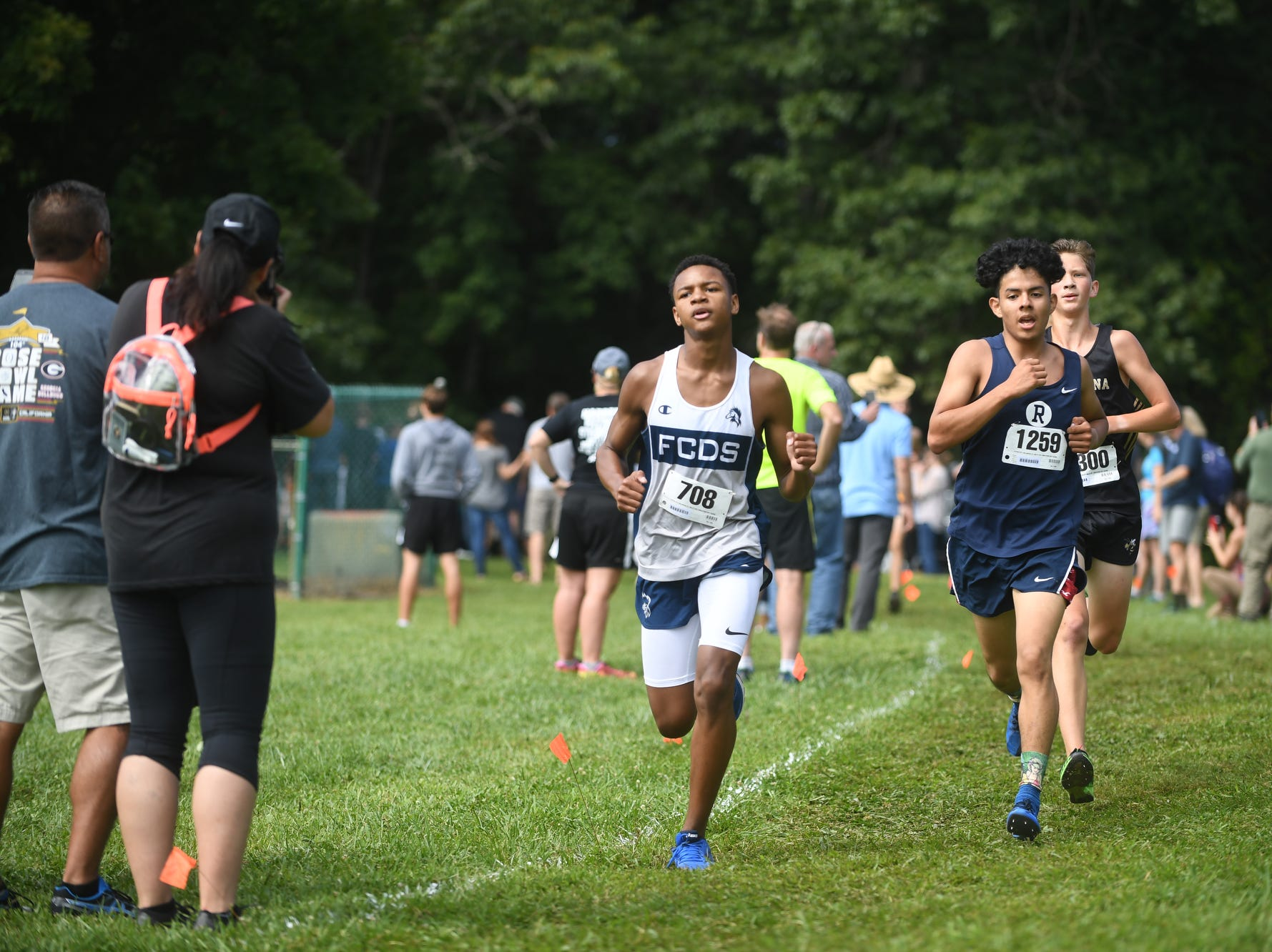 The WNC Cross Country Carnival drew 1,413 runners from North Carolina, South Carolina and Tennessee to Jackson Park in Hendersonville August 25, 2018.