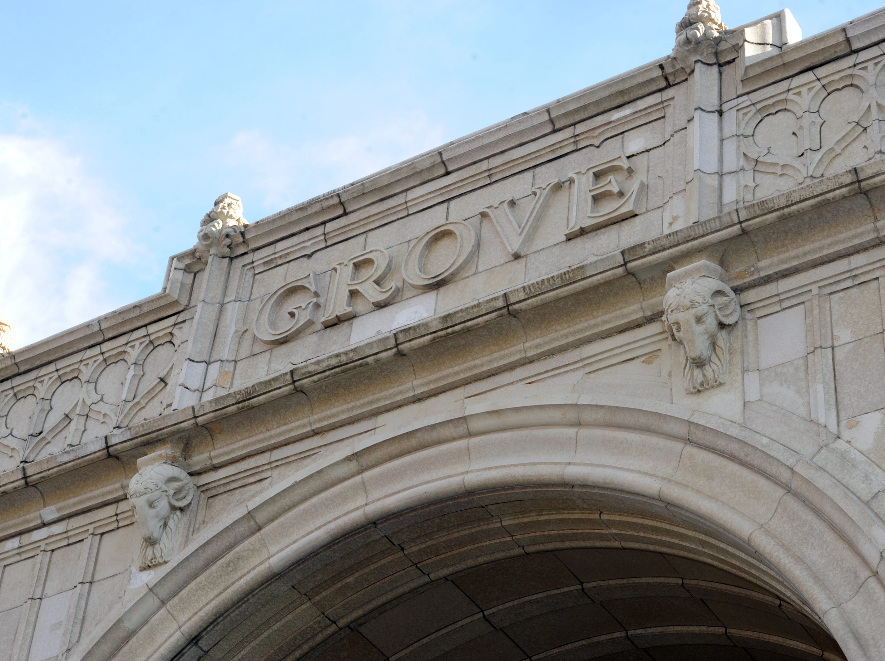 E.W. Grove first built the Batter Park Hotel, across the street from the north entrance of the Grove Arcade.