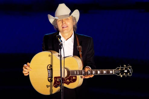 Dwight Yoakam plays to an outdoor audience Sept. 6 at the Suquamish Clearwater Casino Resort.