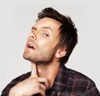 Joel McHale does stand-up Aug. 5 at the Suquamish Clearwater Casino Resort.