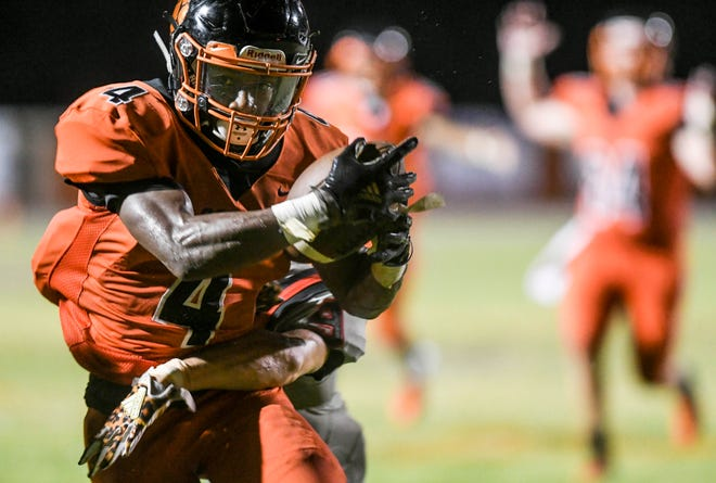 Cocoa's Tigers are ranked fourth in this week's Class 4A Associated Press high school football poll.
