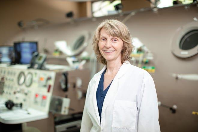 Annette Osbun is a Certified Hyperbaric Nurse for Health First.