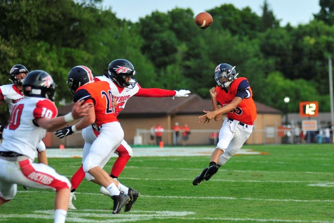 Galion's Elias Middleton has 859 yards of total offense in three games this season.
