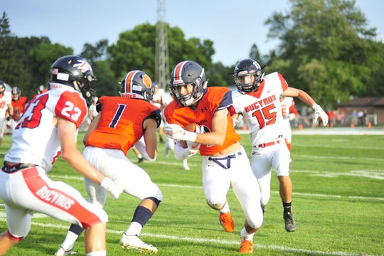 Galion's Isaiah Alsip will be one of the toughest players to limit throughout the season.