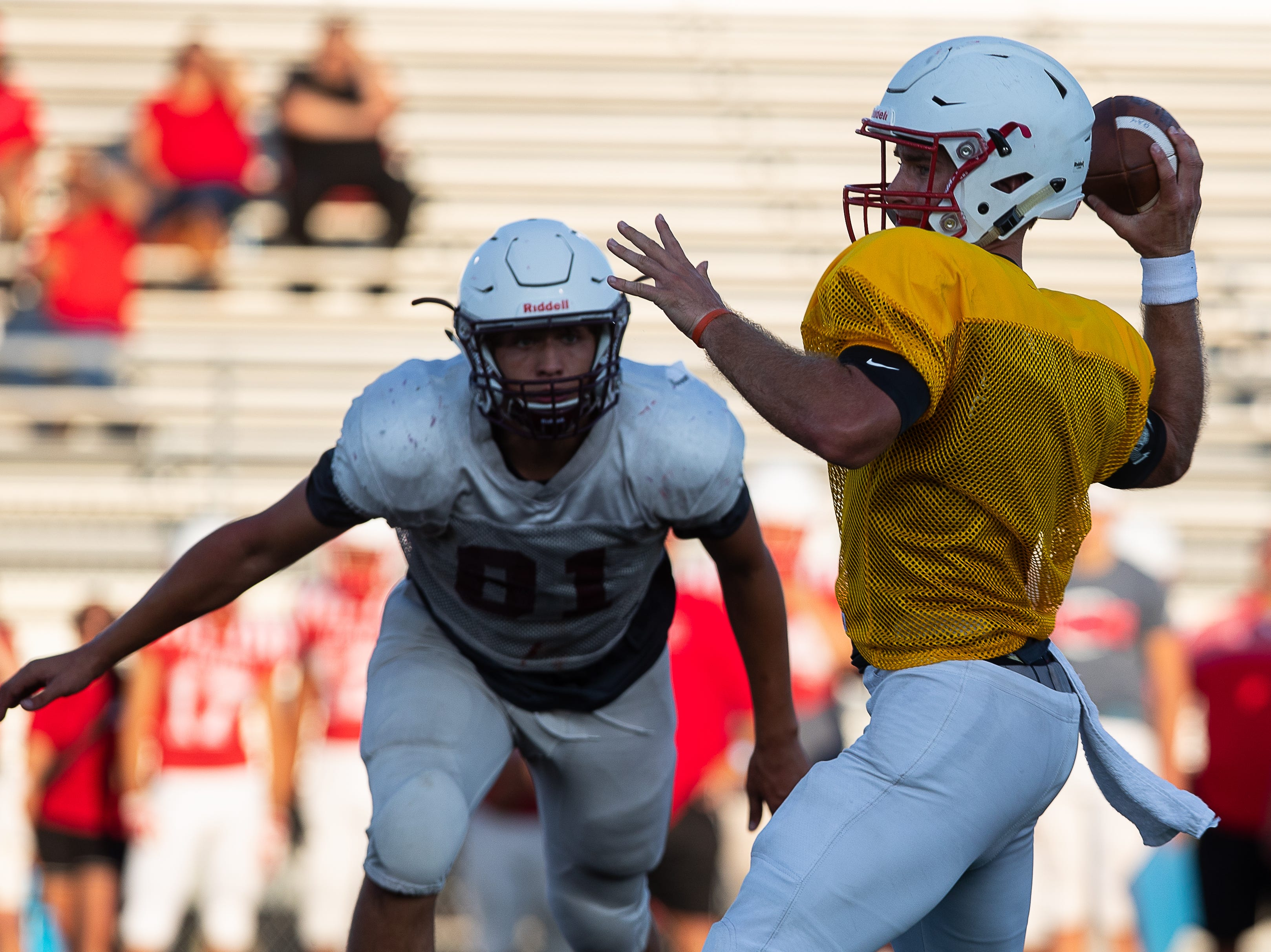 Ray scrimmage against Calallen at Wildcat Stadium on Friday, Aug, 24, 2018.