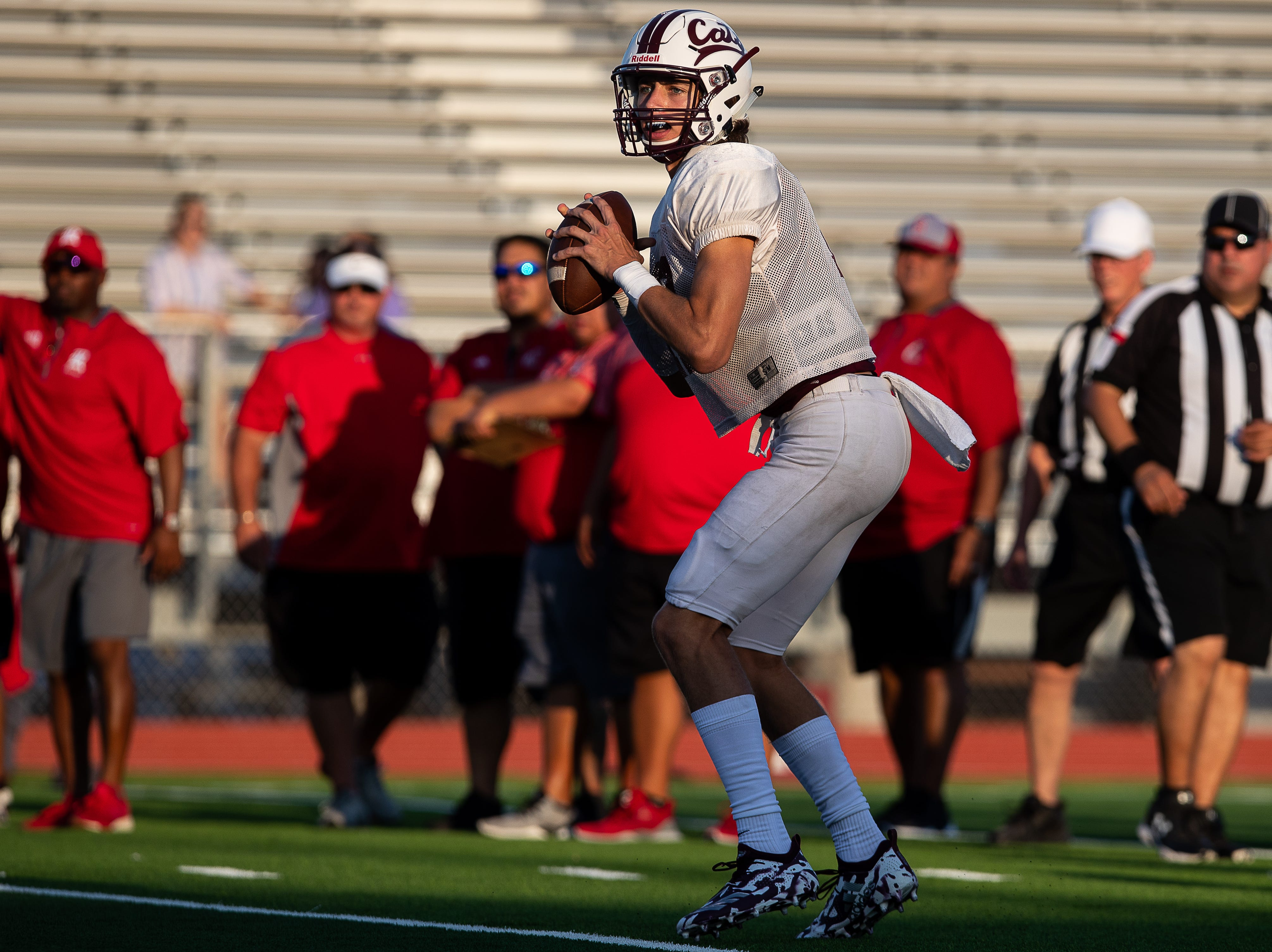 Calallen scrimmage against Ray at Wildcat Stadium on Friday, Aug, 24, 2018.