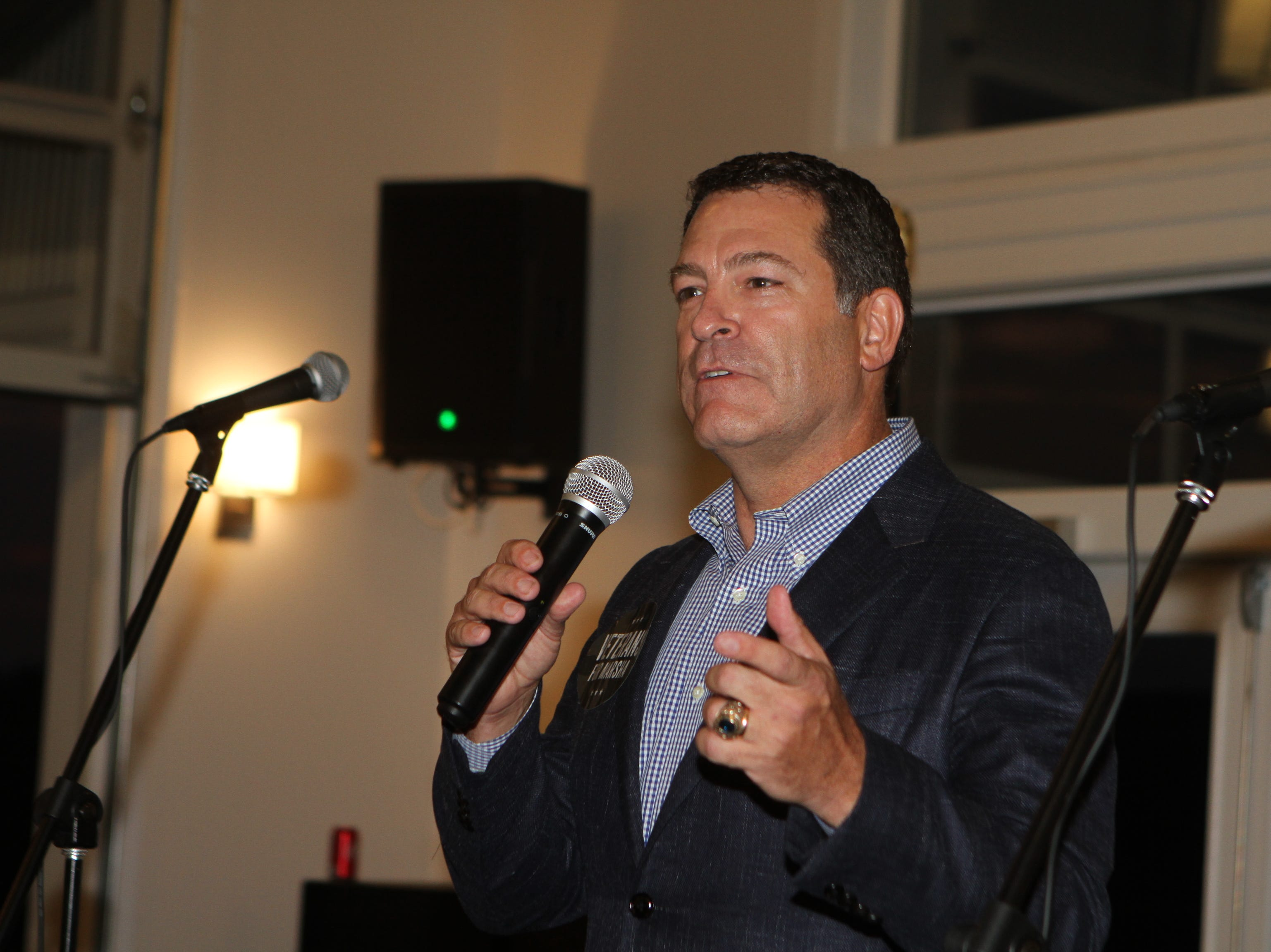 State Sen. Mark Green at the campaign fundraiser for U.S. Senate candidate  Marsha Blackburn at The Ruby Cora Event Venue in Adams in August 2018.