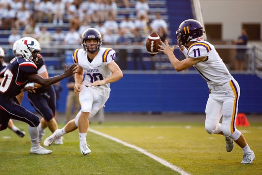 Johnston is the Des Moines Register's No. 1 team in Class 4A. The Dragons host No. 5 Dowling Catholic on Friday night.