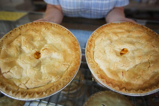 Peach pies will  be plentiful in Romeo this weekend.  Regina H. Boone/Detroit Free Press