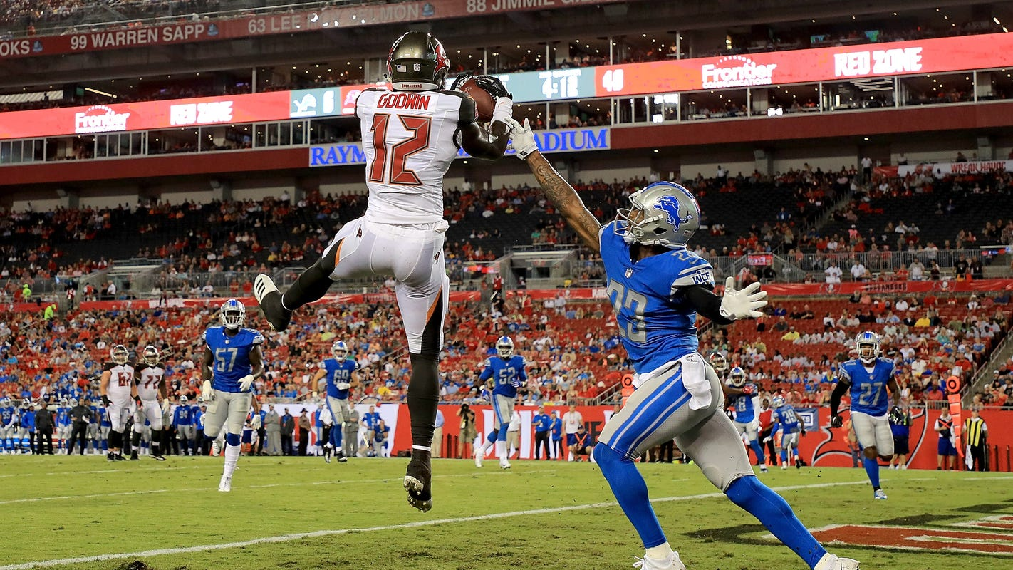 Detroit Lions vs. Tampa Bay Buccaneers: Defending Chris Godwin will be an issue