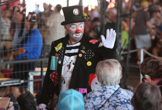 The Shrine Circus will again be part of the Michigan State Fair. Multiple performances are scheduled each day.
