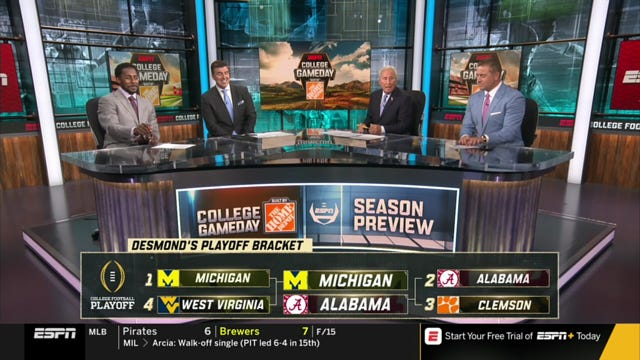Desmond Howard predicted UM will win it all this year.