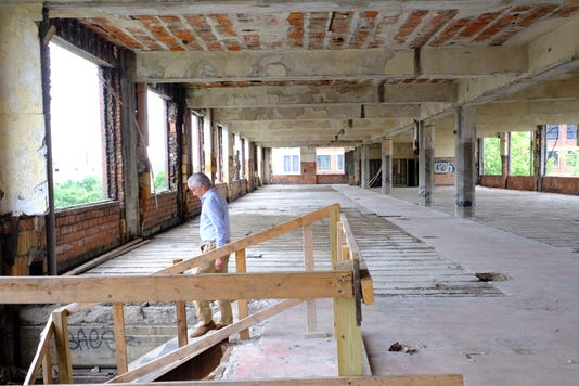Packard Plant August 2018