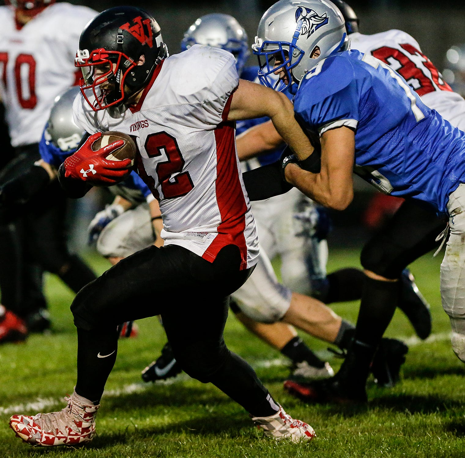 High school football: Kiel, Valders meet in key EWC matchup