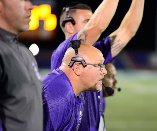 Fremont Ross defensive coordinator Ray Long prepares for Sandusky's run game this week.