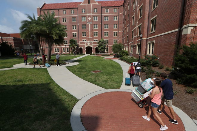 Expected to be one of the most academically talented cohorts in FSU history, the new freshmen class moved into their dorms on Wednesday, Aug. 22, 2018.