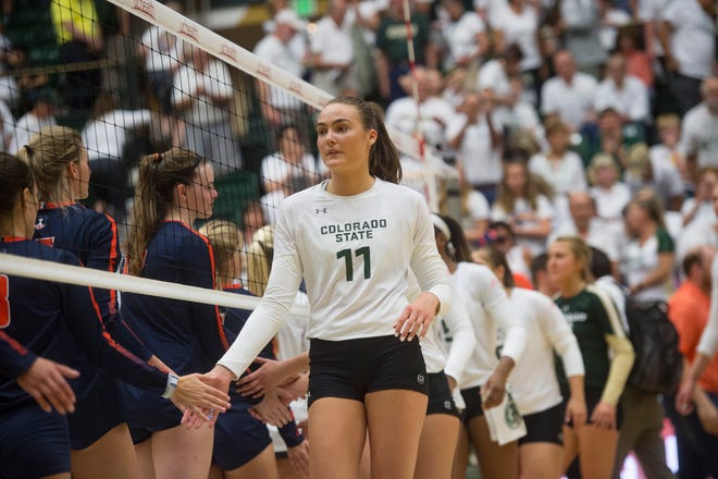 The CSU volleyball team starts a tournament of three games in two days on Friday in Ann Arbor, Michigan.