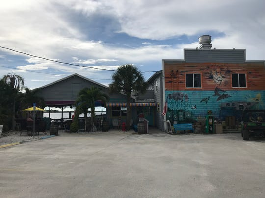Hooked Island Grill on Matlacha serves fresh local seafood in a casual waterfront setting.