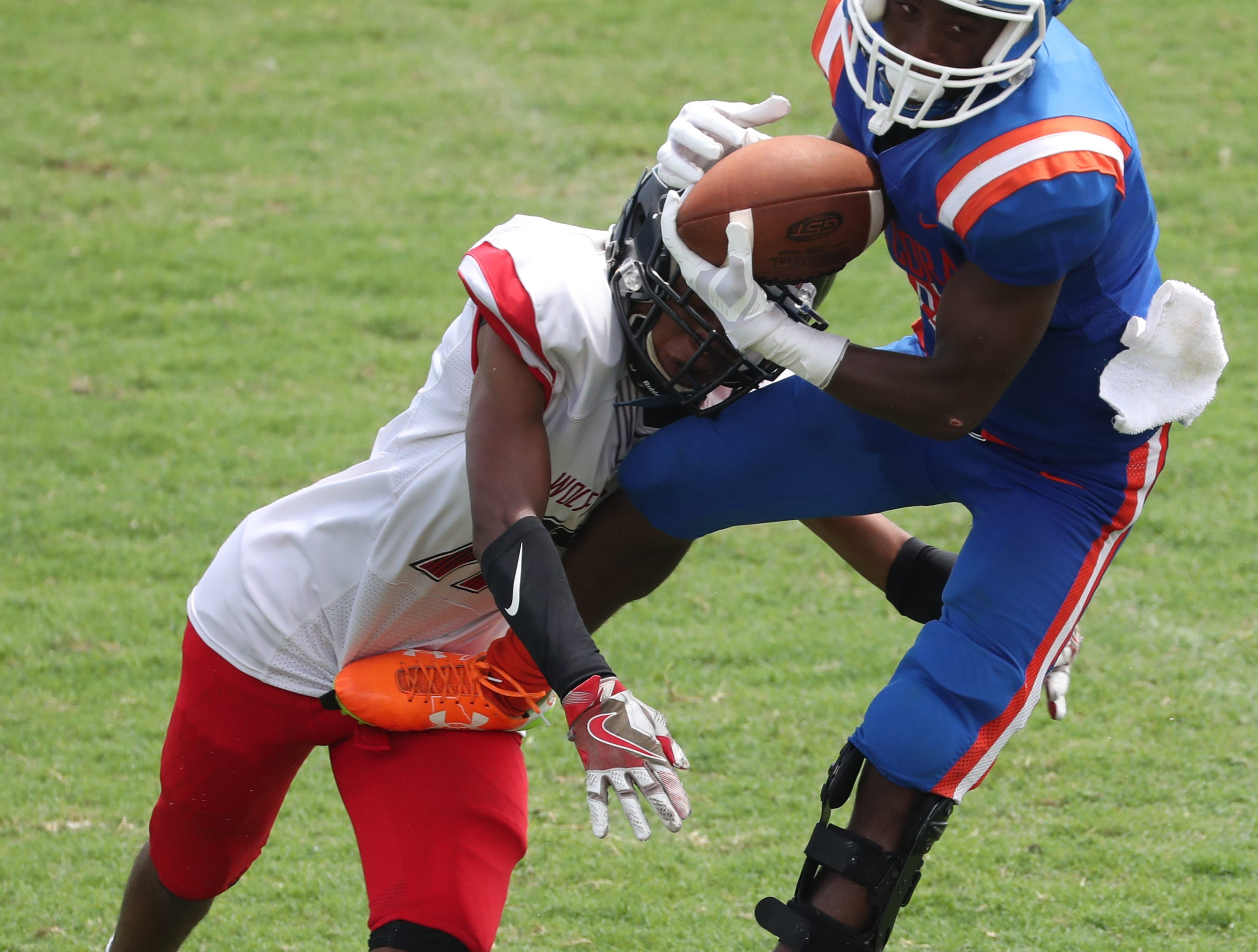 Images from the game. Cape beat South Fort Myers in their Saturday morning game.