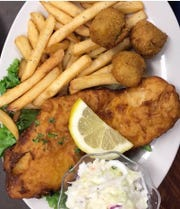 Hooked Island Grill on Matlacha offers local seafood and more.