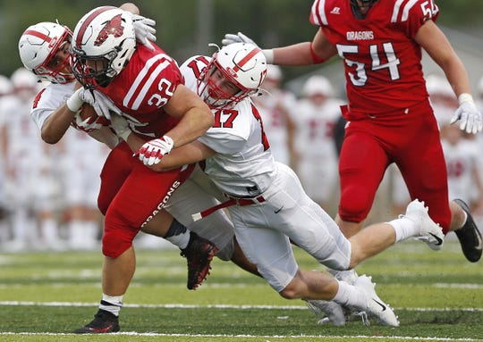 Charlie Spegal and New Palestine beat Center Grove last season. They meet again on Friday.