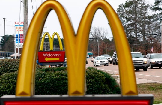 McDonald's has stopped selling salads at affected restaurants and switched salad suppliers.  Rogelio V. Solis/AP