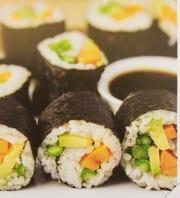 Aspara-Guy Sushi from the Vegan Stoner Cookbook