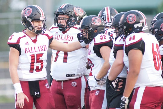 Ballard is 1-2 and will look for a second straight win Friday vs. Central.