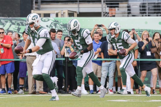 Nfl New York Giants At New York Jets