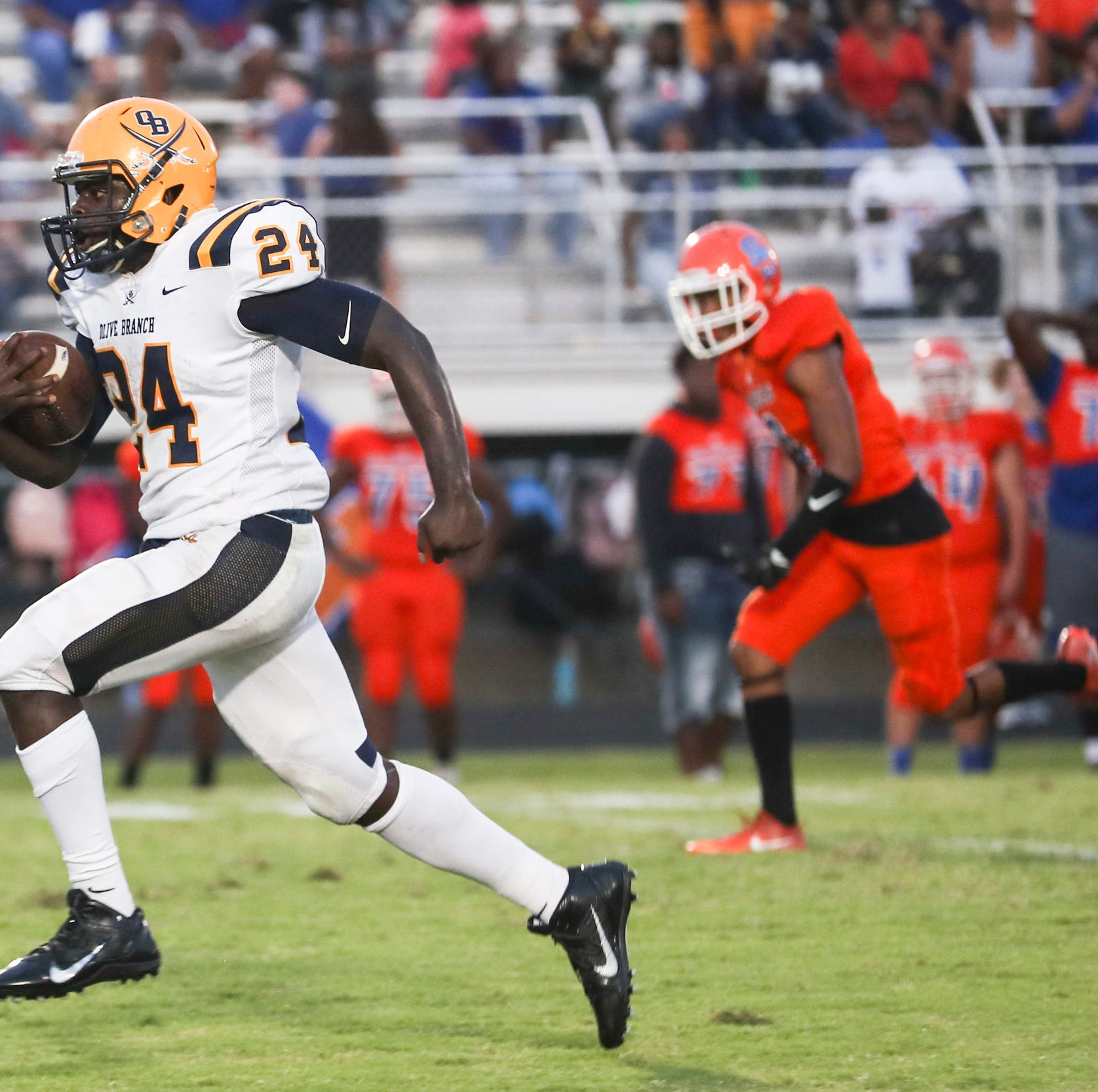 Mississippi high school football scores from Week 2