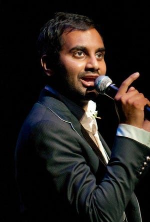 In this March 3, 2012 photo, Aziz Ansari performs at The Fillmore Miami Beach at the Jackie Gleason Theater during the South Beach Comedy Festival in Miami Beach, Fla. Ansari performed two shows in Milwaukee Saturday. Press photographers were not permitted.