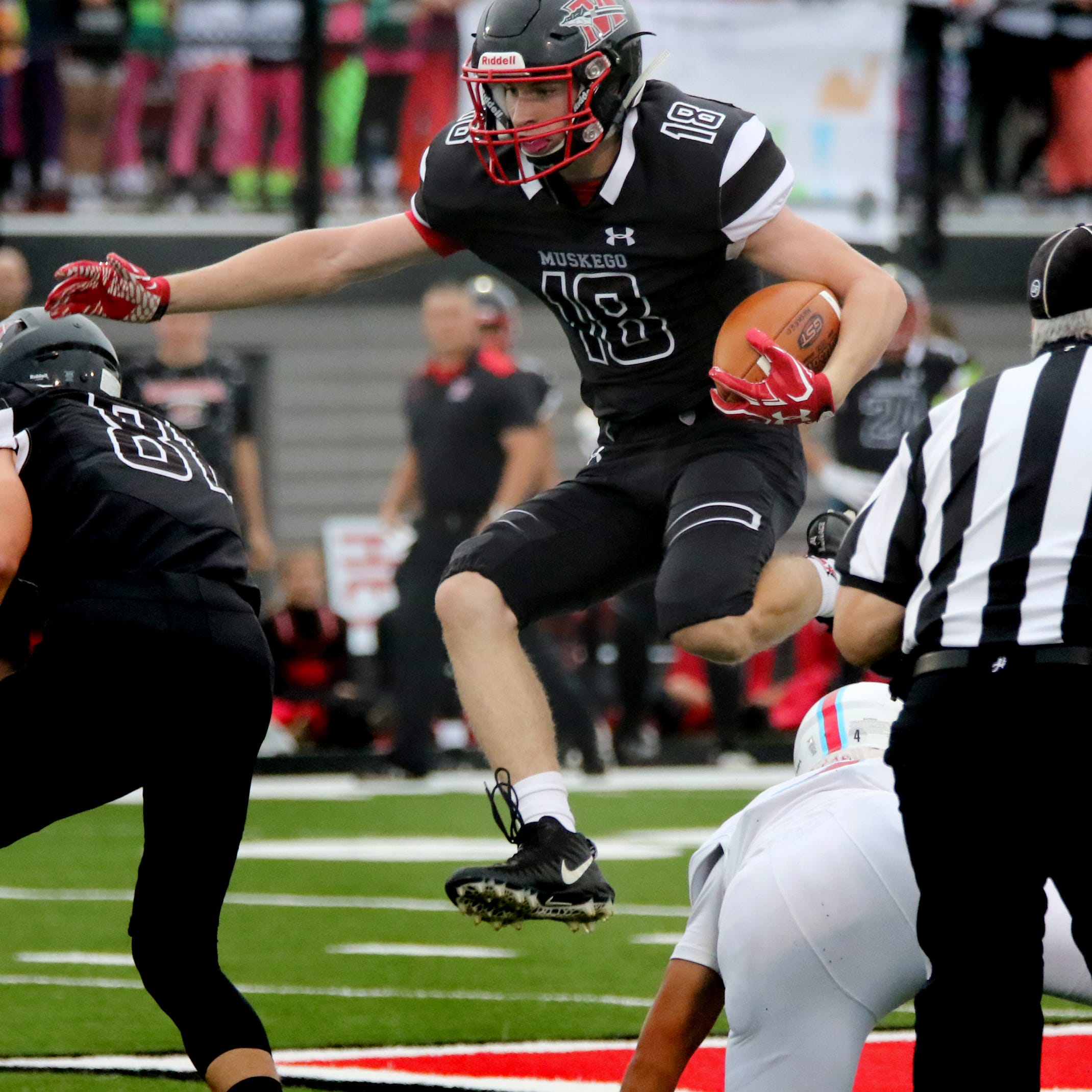 After losing its all-state running back, Muskego has kept doing what it does best: run the ball and win games