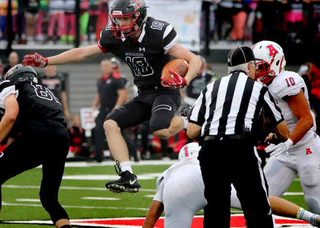 Muskego running back Alex Current has leaped into his role as the team's most explosive back.