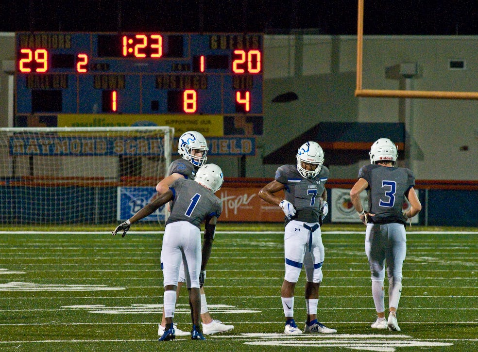 The Barron Collier High School football team beat Regis Jesuit (Colo.), 29-20, in the KSA Classic on Friday, Aug. 24, 2018 at West Orange High School in Winter Garden.
