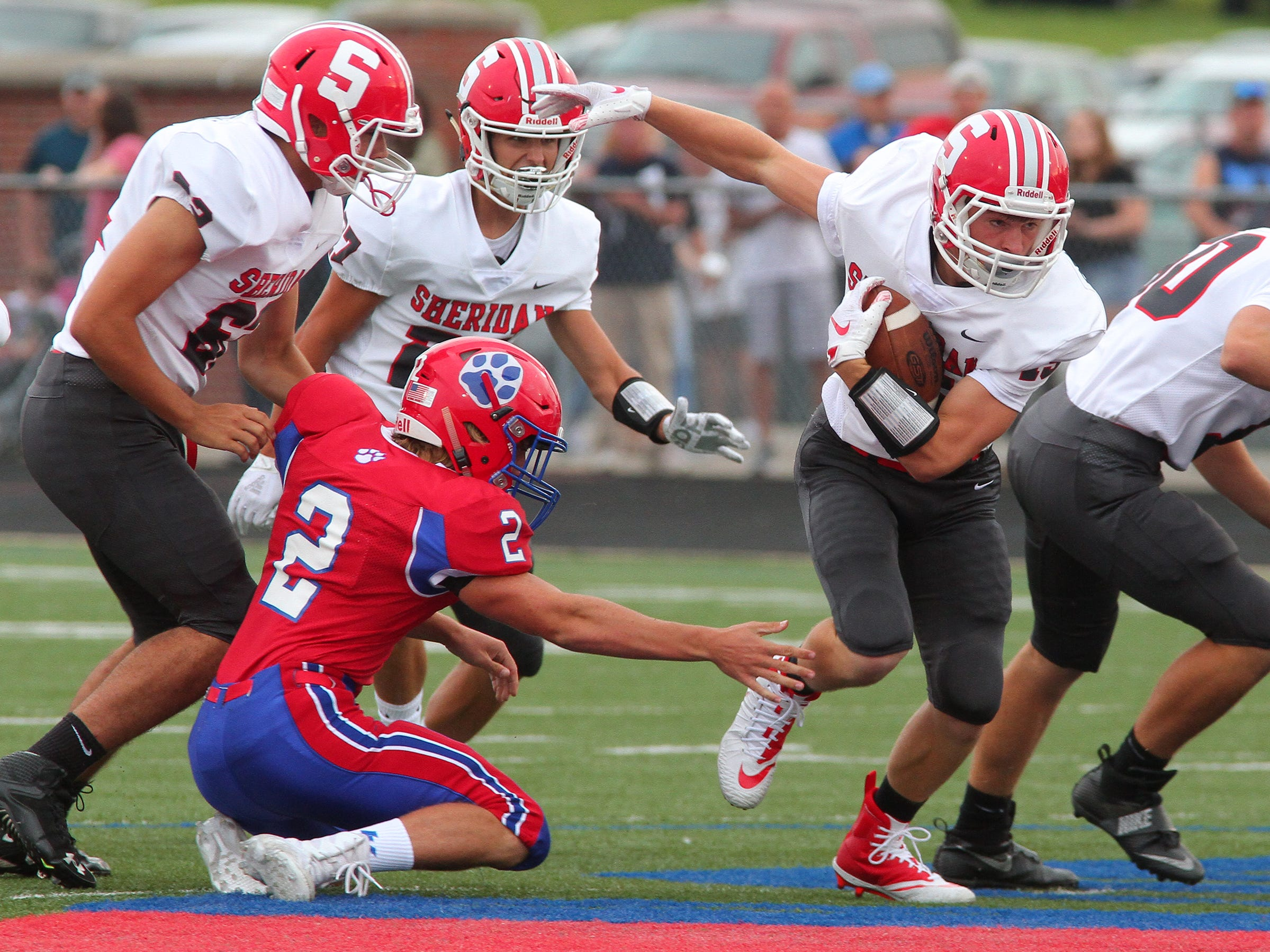 The Generals beat the Panthers 36-21, Friday, during the teams' season opener at Licking Valley.