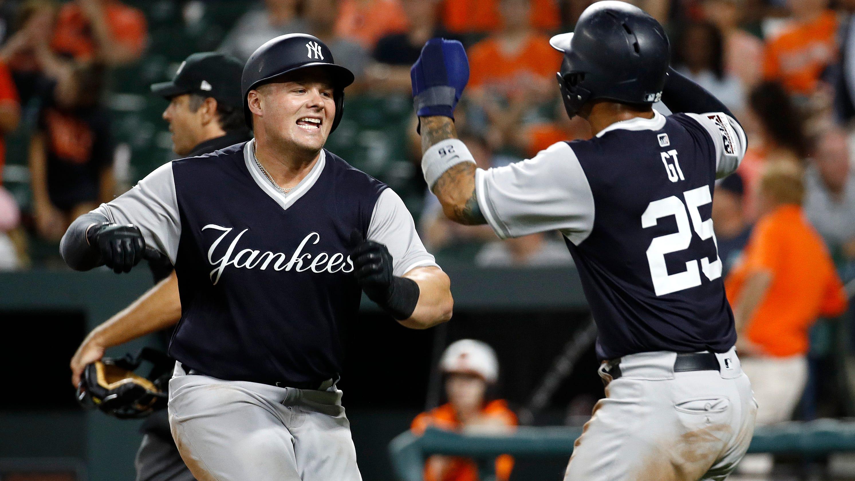 NY Yankees, Orioles lineups for Saturday matineeYankees