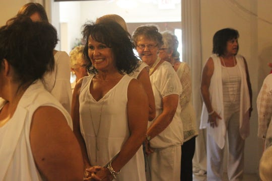 The Carlsbad Chapter of the American Association of University Women host a brunch to celebrate women's suffrage, Aug. 25, 2018 at the Riverside Country Club.