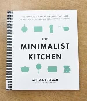 The minimalist kitchen by Melissa Coleman.